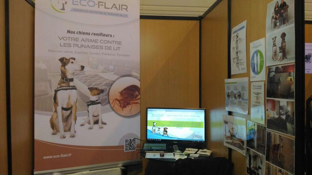 Eco-Flair participe au salon de la désinsectisation